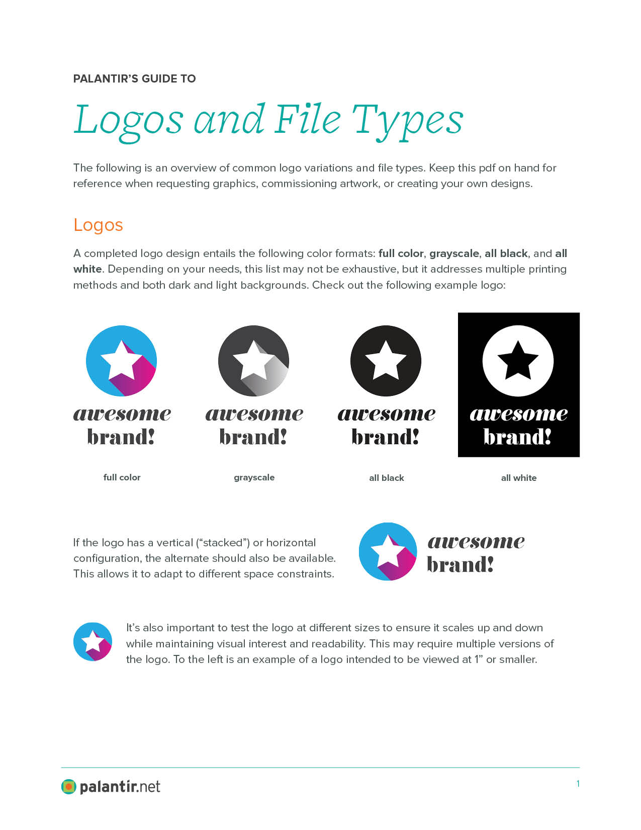 Palantir.net's Guide to Logos and File Types