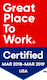 Great Places to Work badge